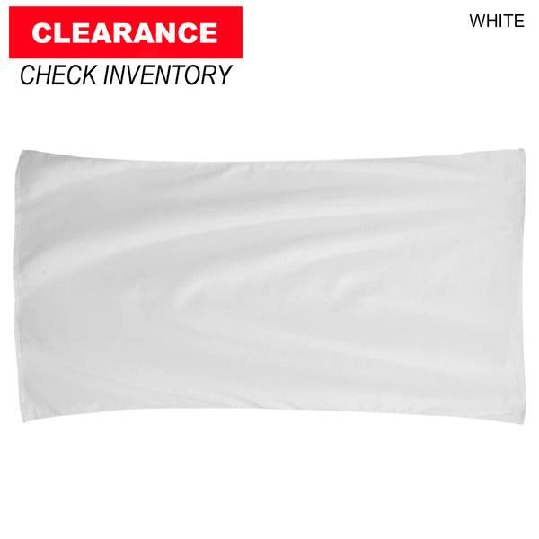blank white beach towel. Blank White Beach Towel
